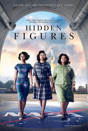 Hidden Figures poster image.